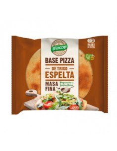 BASE PIZZA MASA FINA ESPELTA 390G