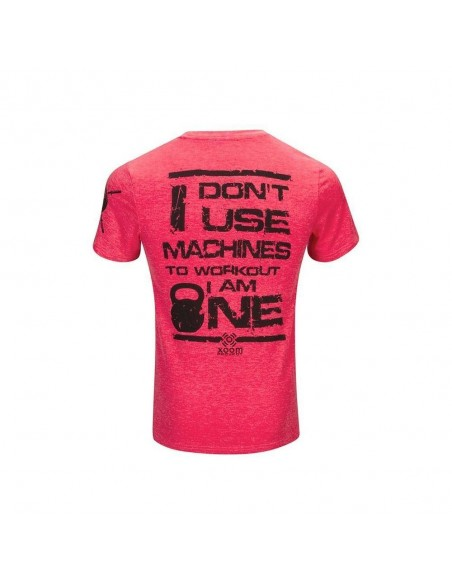 CAMISETA DONT USE MACHINES CORAL