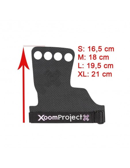 XOOMGRIPS CARBON 4H NEGRO