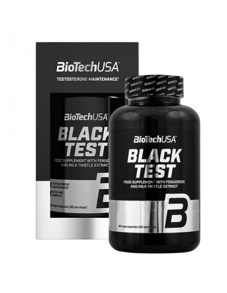 Black Test 90 Caps