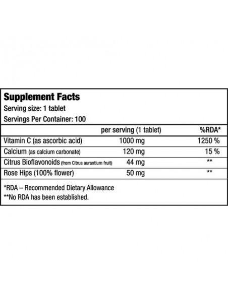Vitamin C 1000_composicion