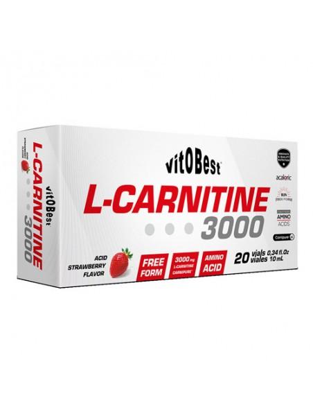 L-Carnitine 3000 - 20 Viales 10Ml