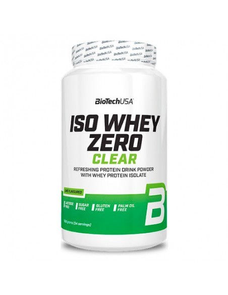 Iso Whey Zero Clear 1362g - Lime